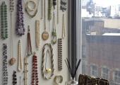 Fidi Bedroom Jewelry Wall Display