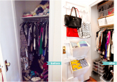 Sheridan Square Closet Reorganization