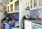 Greenwich Village Kitchen Reorganization Before and After