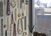 Fidi Bedroom Jewelry Wall Display
