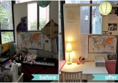 Upper West Side Teen Bedroom Study Before and After