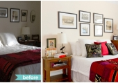 Greenwich Village Bedroom Reorganization Before and After