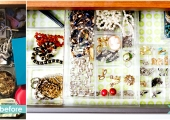 Greenwich Village Bedroom Drawer Reorganization Before and After
