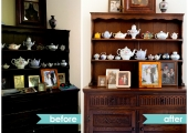 Upper West Side Spare Room Cupboard Reorganization Before and After