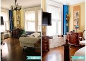 Upper Westside Bedroom Reorganization Before and After