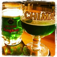 St. Paddy's green beer