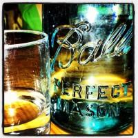 Mason jar water carafes