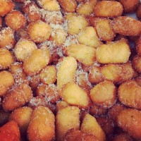 fried donut holes at Smorgasburg in Brooklyn