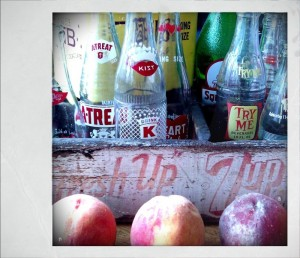 vintage-soda-bottles-peaches-android-polaroid