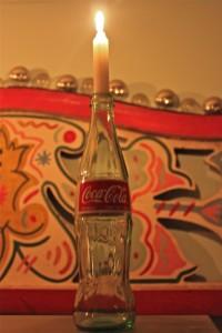 hurricane-sandy-coke-bottle-candle-stick
