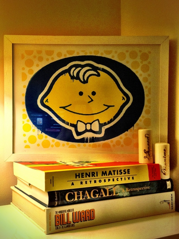 lemonhead-art-books-display
