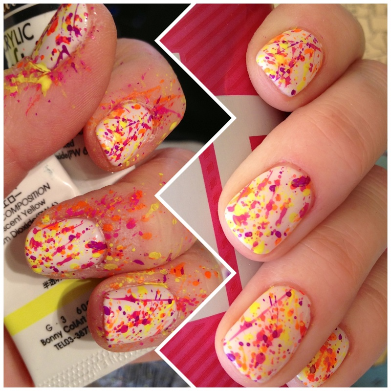 neon-splatter-paint-gel-manicure