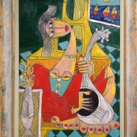 picasso-inpsired-painting-affordable-art-fair