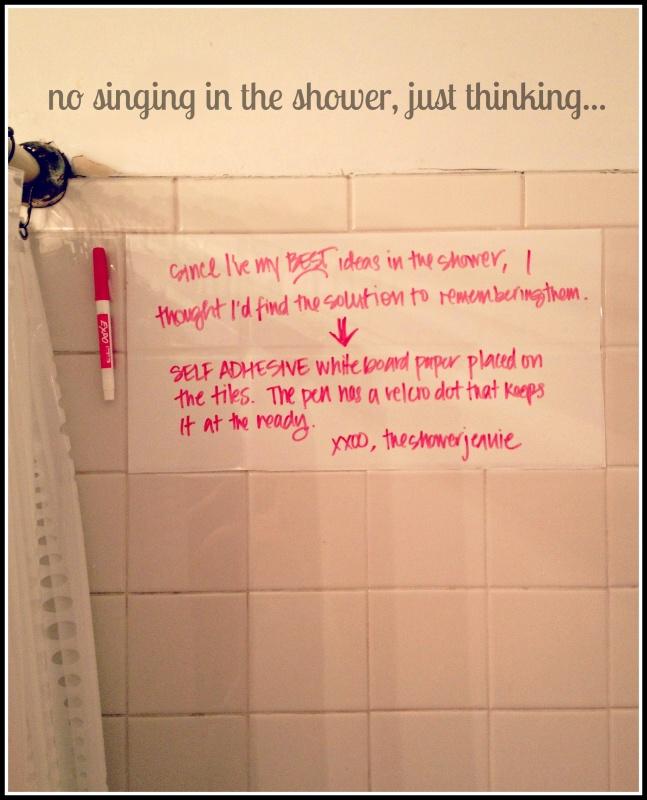 white-board-in-shower