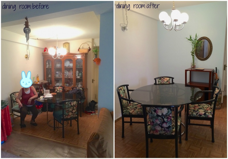 quick and easy dining room makeover in new york city