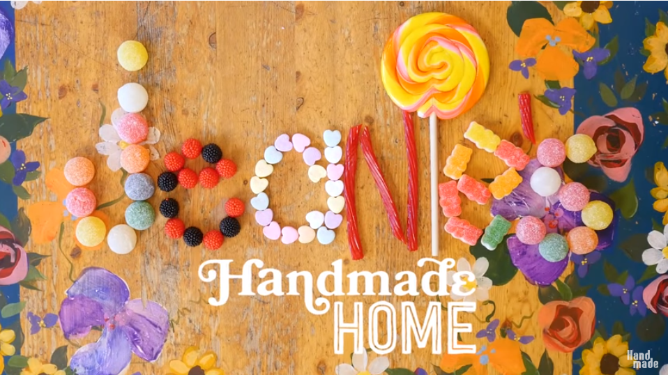 Jeanie's Handmade Home Feature on HGTV shows how a professional organizer's home really looks!